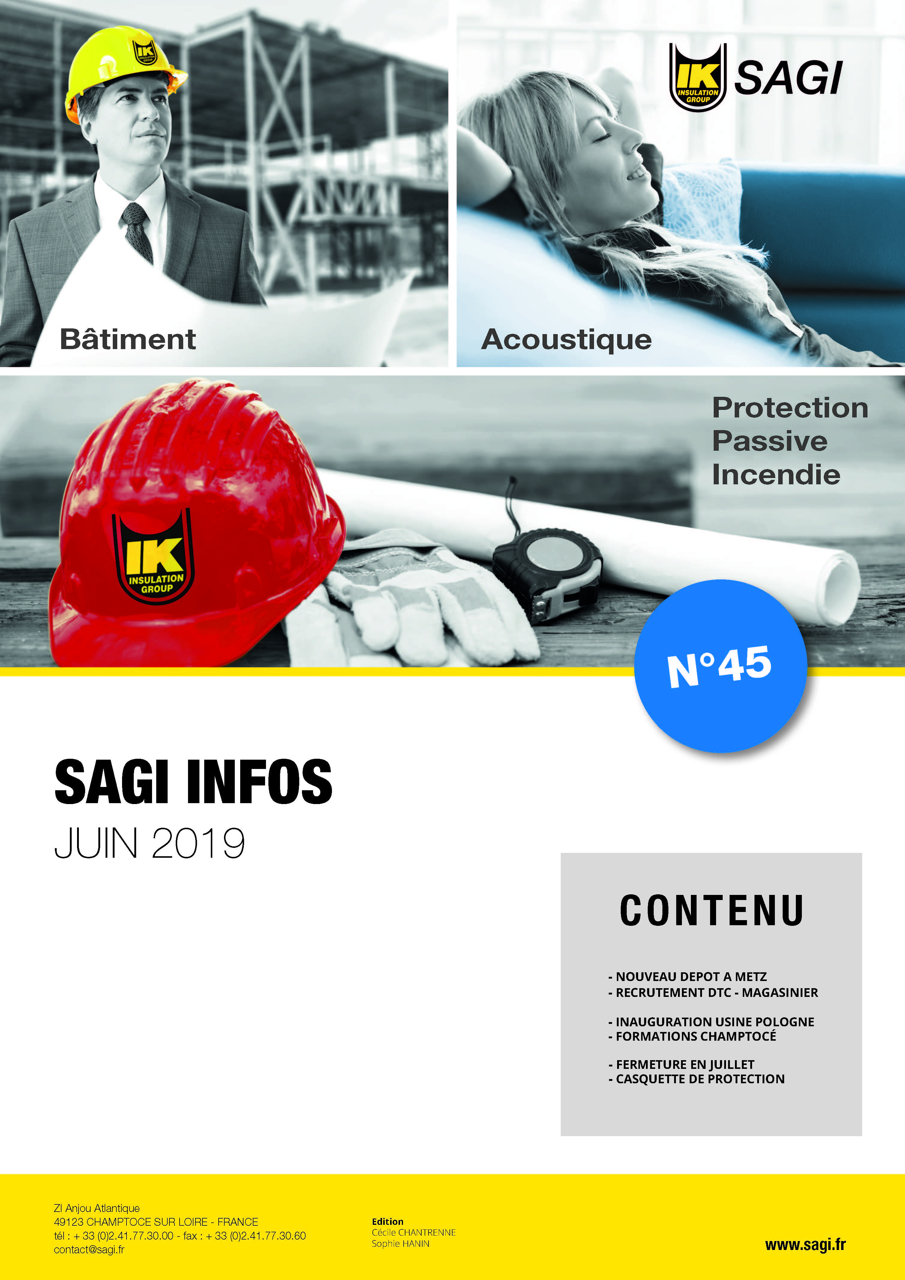SAGI INFOS 06 2019 4 pages Page 1